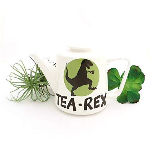 Large Porcelain Tea Rex Teapot