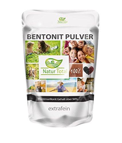 Naturtotal - Bentonit Pulver 900g extrafein