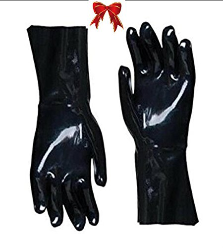 rubber bbq gloves - 4