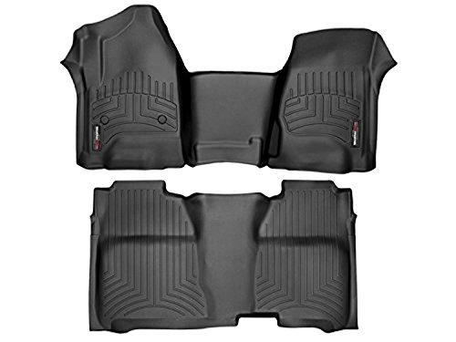 WeatherTech (445431-445422 FloorLiner, Front/Rear, Black from WeatherTech