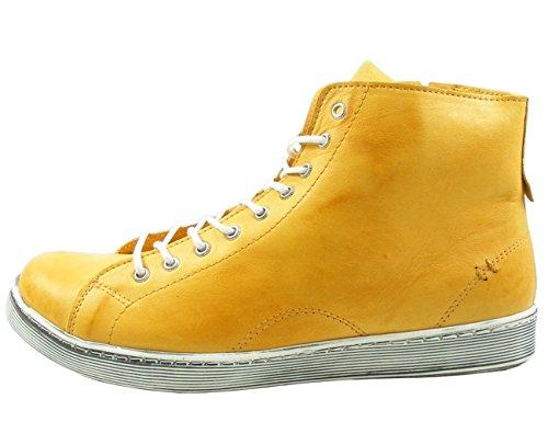 Andrea Dames Conti 0341500 Jaune Haute Chaussure (ocre 116)