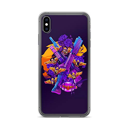 iPhone Xs Max Case Anti-Scratch Gamer Video Game Transparent Cases Cover Live Thirty Lives Retro Retro Video Games Computer Crystal Clear -