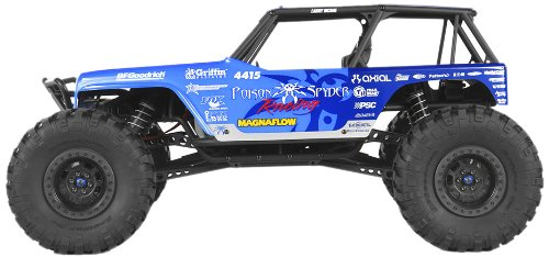 (Axial 1/10 Wraith Jeep Wrangler 4WD Poison Spyder Ready-to-Run (RTR) )