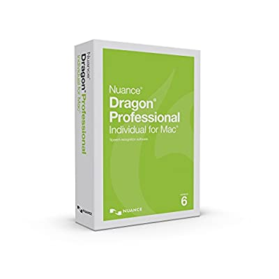 Dragon Professional Individual for Mac 6.0, Upgrade from 4.0 and up