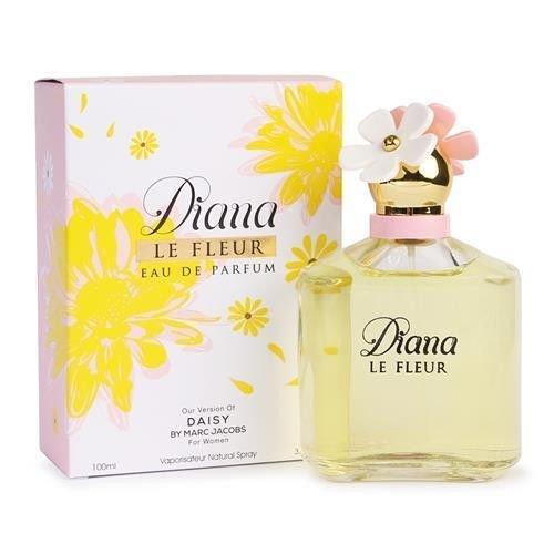 Diana Le Fleur Eau De Parfum, Impression by Mirage Brands, 3.4 fl oz 100 ml, Long Lasting Fragrance To Rock Every Occasion
