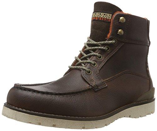 Napapijri Trygve, Zapatillas de Estar por Casa para Hombre Marrón - Braun (Dark brown N46)