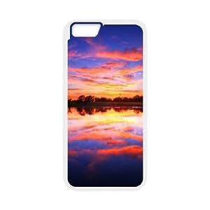 Sexyass Sunset IPhone 6 Case Pastel Sunset, Girl Protective Sunset, {White}