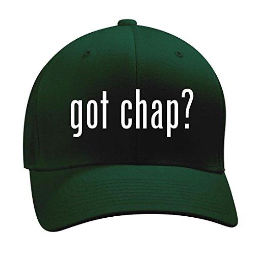 got chap? - A Nice Men's Adult Baseball Hat Cap, Forest, Large/X-Large (Schooling Chaps Leather)