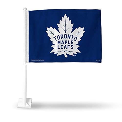 (Rico Toronto Maple Leafs NHL 11X14 Window Mount 2-Sided Car Flag )