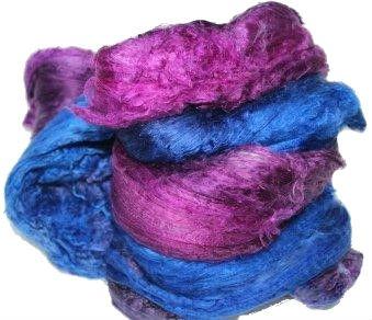 - Silk Cocoon Sheet Lap - 100 Grams