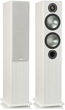 Monitor Audio Bronze 5 120W Blanco Altavoz - Altavoces (De 2,5 vías, 120 W, 37-30000 Hz, 8 Ω, Blanco)