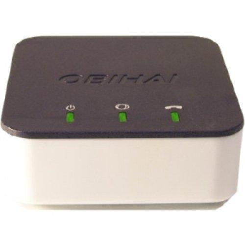 OBIHAI TECHNOLOGY OBI300 / VoIP Telephone Adapter with 1-Phone Port & USB / 1 x RJ-45 - 1 x FXS - Gigabit Ethernet