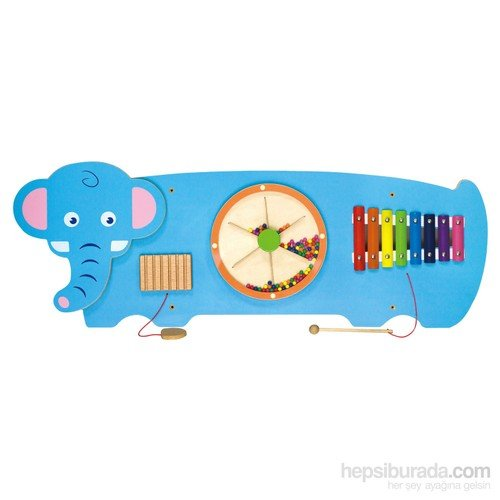 Serra Baby Vıga Toys Wall Game - Elephant by Serra Baby