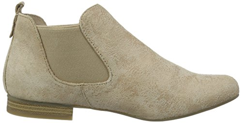 Caprice 25301 Damen Chelsea Boots Beige (beige Suède)