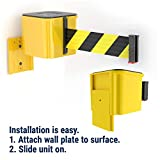 Visiontron WM412 Retractable Belt Wall Mounted