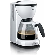 Braun KF520 / 1 CafeHouse coffee maker white