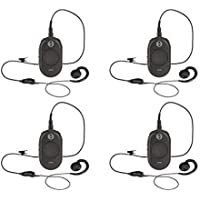 4 Pack of Motorola CLP1040 On-Site Business Two-Way Radio 4 Channel 1 Watt 90 UHF Frequencies