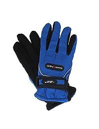 Boys Warm Sport Ski Gloves Winter Gloves for Youth - Royal
