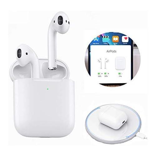 chollos oferta descuentos barato 2020 Nuevos Auriculares inalámbricos Bluetooth Touch Control con conexión automática Compatible con iOS Android Mac T052