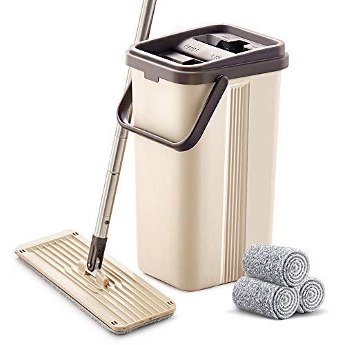 BOOMJOY Microfiber Flat Mop