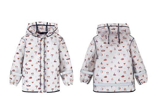 D 80-90cm NHDYZ Imperméable VêteHommest de Pluie imperméable 80-130Cm pour Enfants Enfants Filles garçons bébé Manteau de Pluie Poncho Veste tranchée imperméable