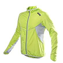docooler® Men Women Sports Jersey Running Cycling Bicycle Windproof Sleeve Coat Jacket Clothing Hooded Casual Water-resistant