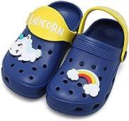 JOINFREE Toddler Clogs Slippers Sandals Non-Slip Girls Boys Clogs Lightweight Garden Shoes for Little Kids Sli