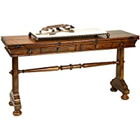 Reual James 201-040 Flip Top Console Table, Windsor