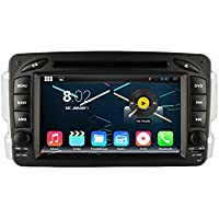 KUNFINE 7 Android 6.0 Otca Core Car DVD GPS Navigation Multimedia Player Car Stereo For Benz Vaneo 2002-2005 Viano Vito C-W203 A-W168 CLK-W209 G-W463 Steering Wheel Control 3G Wifi Bluetooth Free Map