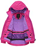 Wantdo Girl's Soft Fleece Lined Jacket Waterproof