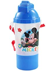 Mickey Clubhouse Rock N Sip N SNack Canteen Water Bottle