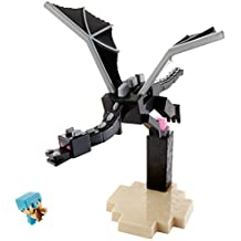 Minecraft Steve and The Ender Dragon Figures