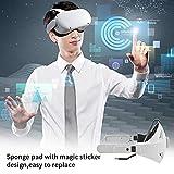 SKQOUI VR Head Strap,Eye Protection Headband Head