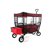 Mosquito Net for Kid's Wagon Cover Fits Buggy Wagon & Easy Wagon Insect Netting for baby