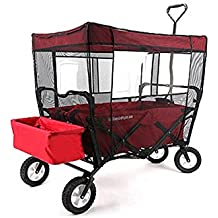 wagons with canopy for kids. Black Bedroom Furniture Sets. Home Design Ideas