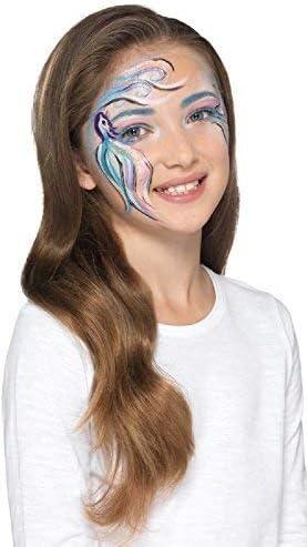 Fancy Me niñas y niños Mítico Creatures unicornio SIRENA Maquillaje Pintura facial Disfraz Kit de accesorios: Amazon.es: Productos para mascotas