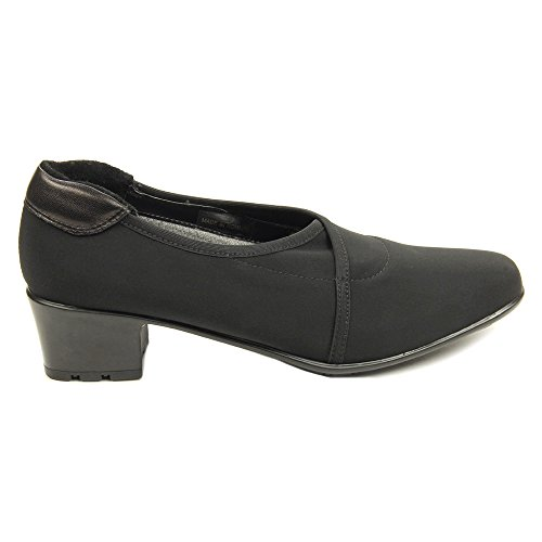 Black Micro Yetta Women's Stretch Sesto Pumps Shoes Meucci gwXH4pqY
