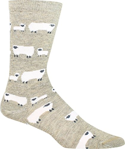 (Woolrich Women's Sheep Novelty Sock,Khaki,US M)