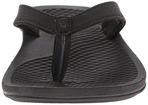 Black Men's OluKai Black Sandal 'Ohana CtAxOwqUA
