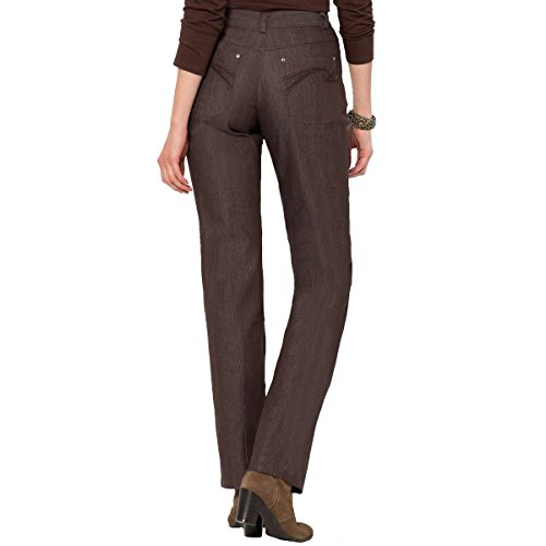 Weyburn Donna La In Marrone Anne Redoute Stretch Jeans Denim qHtFE