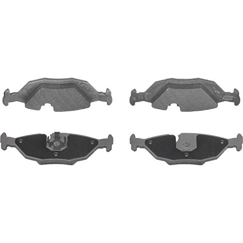 Bmw 733i Brake Pads - Wagner ThermoQuiet MX279 Semi-Metallic Disc Pad Set, Rear