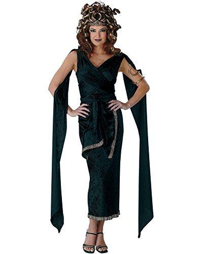 Sexy Medusa Costume Greek God Mythology Theatre Costumes Sizes: One Size (Medusa Sexy Costume)