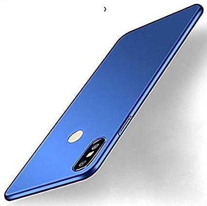 best service 8ede2 7e7b6 RIdhaniyaa 360 Degree, Sleek, Rubberized, Matte, Hard Back Cover for Xiaomi  Mi Redmi Y2 (Space Blue)