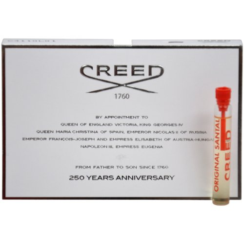 Creed Original Santal Millesime Splash for Men, Vial, Mini,0.08 - Creed Tester Spray Millesime