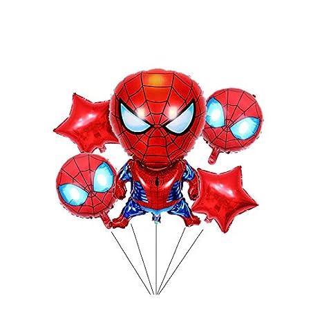 Juego de globos de papel de aluminio de superhéroe Spiderman ...