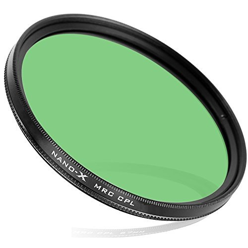 58mm Circular Polarizer CPL - SCHOTT Glass - 20 Layer NANO Coated - Slim Frame Filter (For Lens with 58 mm Filter thread)
