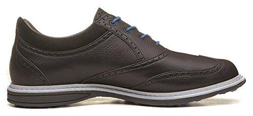 Ashworth Encinitas Wingtip Spikeless Golf Shoes 2014 Black Air Force Blue Medium 9.5
