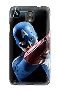 Special Design Back Captain America In The Avengers Phone Case Cover For Galaxy Note 3