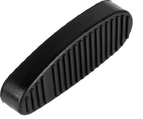 Ultimate Arms Gear Tactical New Generation Ribbed Stealth Black Slip On Rubber Recoil Reducing Combat Buttpad Butt Pad For 6 Six Position Retractable Collapsible Stock AR-15 AR15 M4 Rifle - Collapsible Position 6