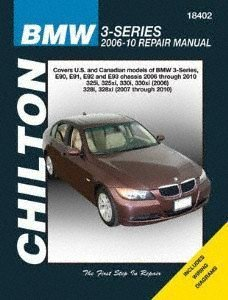 Chilton 18402 Bmw 3-Series, 2006-10